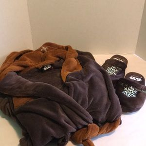 Star Wars Robe and Slippers Set